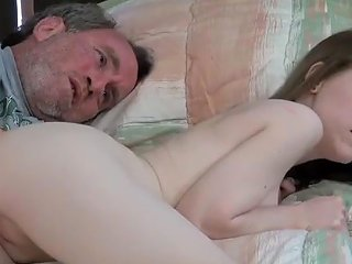 JizzBunker Porno - Daddy Cums In Baby Girl 039 S Ass
