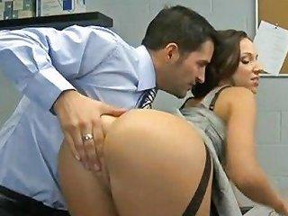 XHamster Porno - Lusty Secretary Has Her Pantie Pot Poked By Blondelover