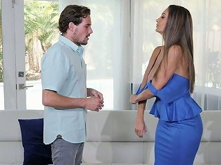 AnySex Porno - Bodacious MILF Ava Addams Gets Intimate With Nextdoor Young Dude