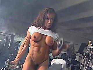 KeezMovies Porno - Denise Masino 03 Female Bodybuilder