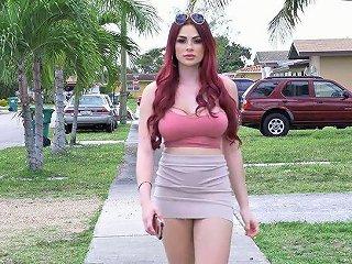 AnySex Porno - Slutty Nextdoor Babe Skyla Novea Is Fucked In Her Whorish Wet Pussy