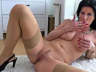 NuVid Porno - Milf Masturbating In Stockings Nuvid