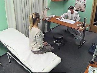 DrTuber Porno - Fake Doctor Gets Her Fur Pie Hammered Inside Fake Hospital Drtuber