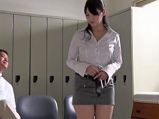 XHamster Porno - Jav Star Turned Teacher Rei Mizuna Striptease Subtitled