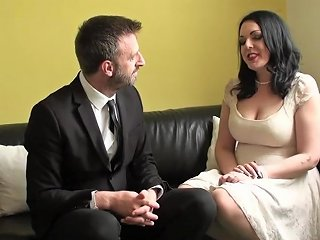 XHamster Porno - Posh British Skank Doggystyled After Messy Bj Free Porn F3